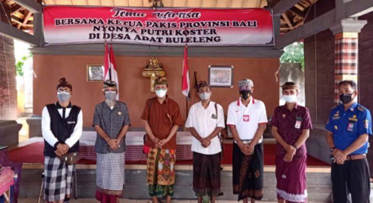 DPMA Bali Pantau Posko Covid SGRP Desa Adat Buleleng